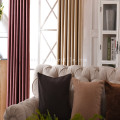 Fleece blackout window curtain fabric