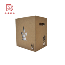 Professional manufacture new design corrugated disposable gift unique box