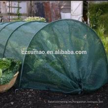Fábrica promocional jardín plástico cazadora sombra red