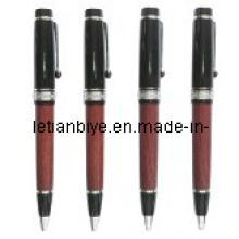 Bolígrafo metal y madera para regalo de aniversario (LT-C201)