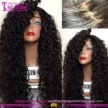 Feito à mão 100% cabelo humano seda superior completo perucas do laço quente glueless seda superior peruca cheia do laço peruca moda popular cheia de seda do laço top