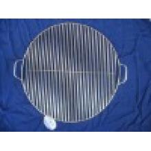 Круглая проволочная сетка для гриля для барбекю со стентами / опорами