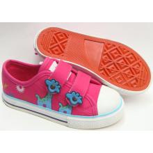 2016 Новые ботинки холстины детей конструкции вулканизованные (SNK-02040)