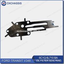 Anillo de sello de filtro de aceite genuino Transit V348 6C1Q 6L710 BA