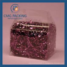 Boîte d'emballage PVC transparente (CMG-PVC-001)