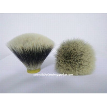 Fan Shape Natural Finest Badger Hair Knot