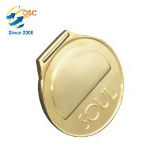 Alliage antique de zinc 3D d'or fait sur commande aucune médaille minimum de commande en métal de double-médaille de récompense
