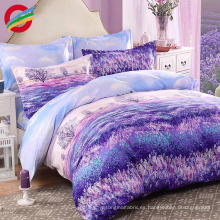 luxury comforter duvet cover cotton bedding set for home textile