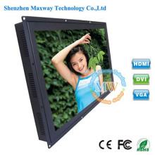 Moniteur de TFT LCD LED de cadre ouvert de 26 pouces d'intense luminosité avec le port de HDMI VGA