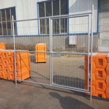 hot dipped galvanized temporary welded mesh fence