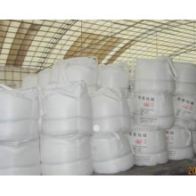 Luz de la ceniza de soda, carbonato de sodio (Na2CO3). Ceniza de soda