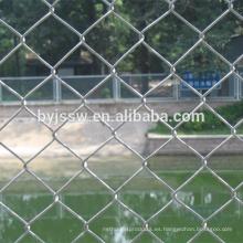 Paneles de valla de enlace de cadena de 6 pies / Malla de alambre de acoplamiento de cadena galvanizada