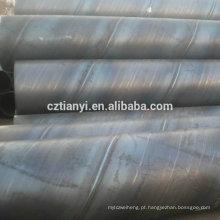 Fábrica personalizada em aço inoxidável barato erw tubo