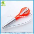 2 in1 caneta promocional plástica, fita métrica caneta, caneta de toque