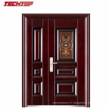 TPS-046sm Épaisseur une porte et demi-porte-demi-porte en acier