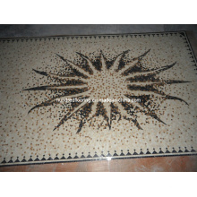 Pattern Mosaic Marble Stone Mosaic Floor Tile (ST110)
