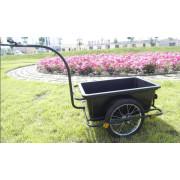 Garden Tool Cart Bike Bicycle Trailer Plastic Tray
