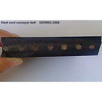 ST1400 Bandas de goma cable acero transportadoras correa