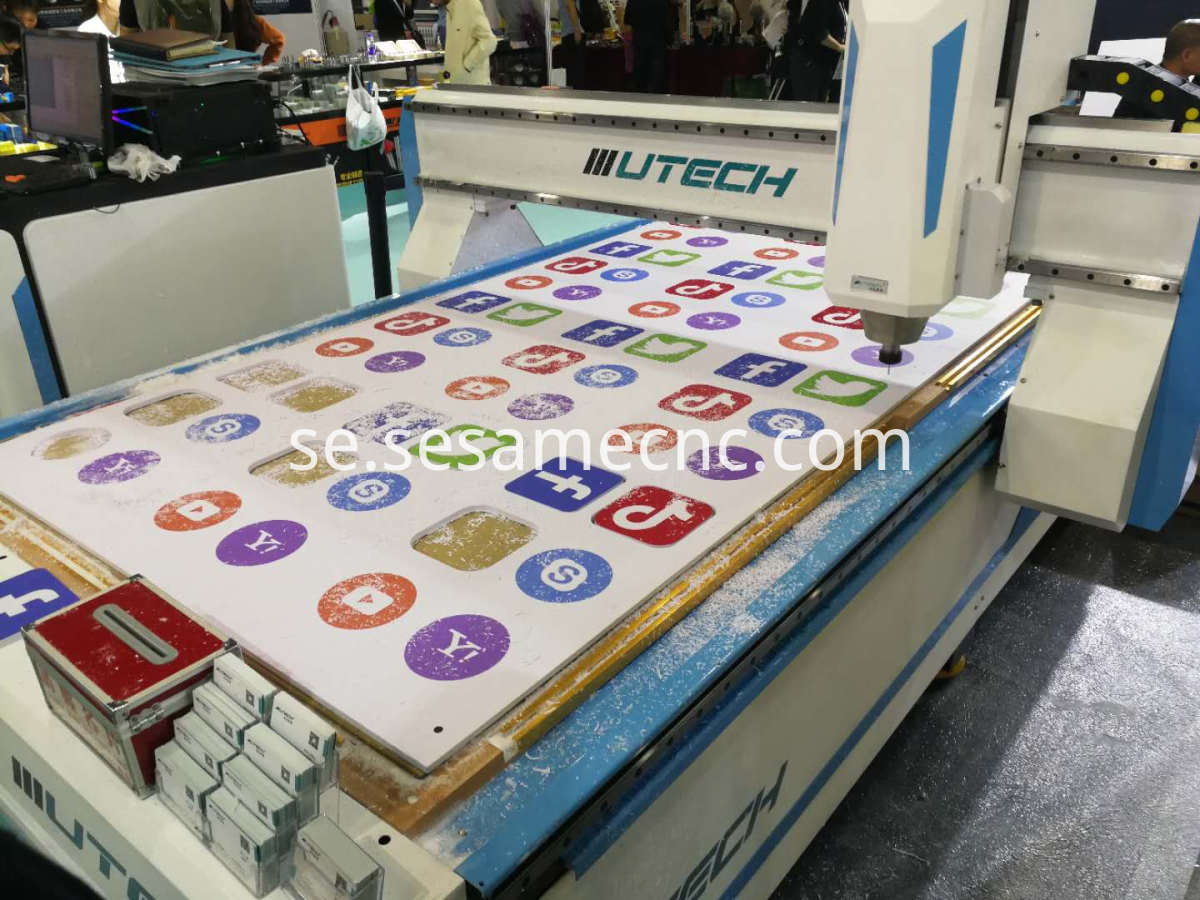 leather cutting cnc router