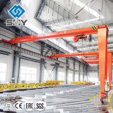 Electric hoist Semi Gantry Crane, Goliath Crane high quality 10t