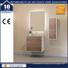 Moderne Melamin Wandmontierte Badezimmer Vanity Unit für australischen Stil