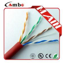 Fabricado na China ethernet cable5e EIA / TIA-568B Standards 1000ft / carton