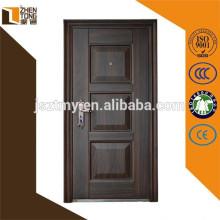 Puertas de seguridad de venta caliente de puerta de acero de alta evaluación