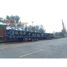 40feet Sisi Dinding Semi Trailer 30-60Tons