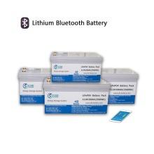 Bateria de lítio 12.8V200AH com módulo Bluetooth