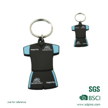 Kundenspezifischer Entwurf PVC Keychain mit kundengebundenem Logo