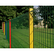 Security Wire Fence Mesh/ Welded Wire Mesh Fence/PVC or Galvanized Wire Fence