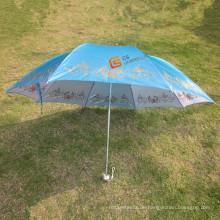 22 * 8 k, winddicht Faltung Regenschirm mit veränderbaren Tuch (YSF4007B)