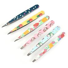 Clip de punta de acero inoxidable cejas clip de cejas para marcar las plumas alicates alicates cejas