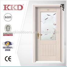 Стальные двери деревянные кДж-707 для нового дизайна с стекла, используемые в спальне и ванной комнате как квартира