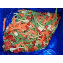 Légumes mélangés congelés IQF