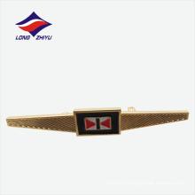 Пользовательские мягкая эмаль сафти контактный одежда золото значок