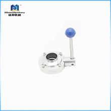 Клапан-бабочка управления быстрой нагрузки 2 дюймов стандартная / санитарный электрический клапан-бабочка, клапан-бабочка для молока