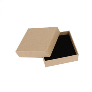 Kraft Paper Cardboard Packaging Boxes For Packing Jewelry