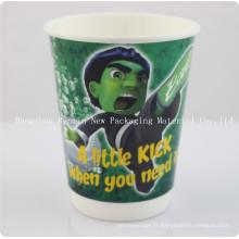 Tasses en papier café Perfectouch avec couvercle
