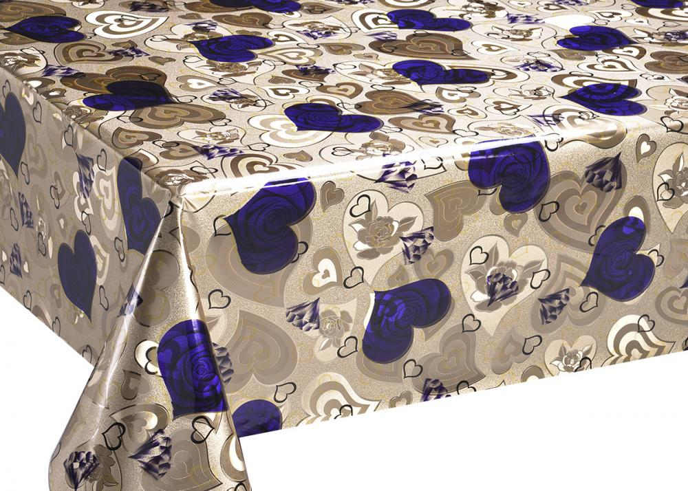 Double Face Gold Coating Tablecloth