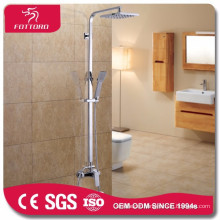 Chrome plated brass bathroom showers