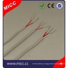 RTD-16/20 / 24AWG-sil / sil / SSB-ansi alambre estándar de termopar