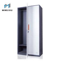 China Mingxiu Steel Office Furniture Steel Almirah Design / Metal 2 Door Wardrobe