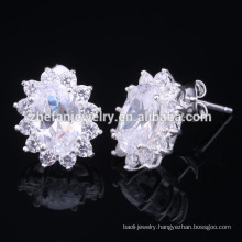 2015 factory wholesale unique silver stud earring,925 thailand silver earring