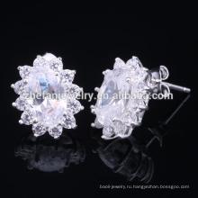 2015 завод оптовая серебряные серьги,925 Таиланд серебряные серьги