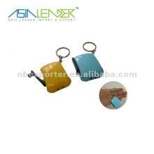Dynamo Keychain light mini led keychain hand crank flashlight