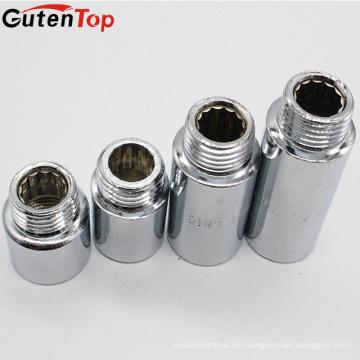 Piezas trabajadas a máquina de alta precisión de la precisión de GutenTop, pezón de la extensión del CP del acero inoxidable