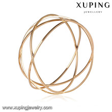 51639 Xuping Schmuck Mode Große Frauen Armreifen mit 18 Karat Vergoldet
