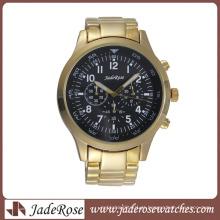 Alta qualidade moda masculina relógio quartzo negócios assista