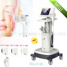 Hifu a focalisé la machine de beauté de Hifu d'ascenseur de visage d'ultrason (FU4.5-2S)